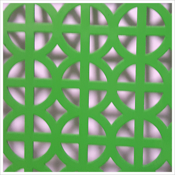 pvc perforated metal